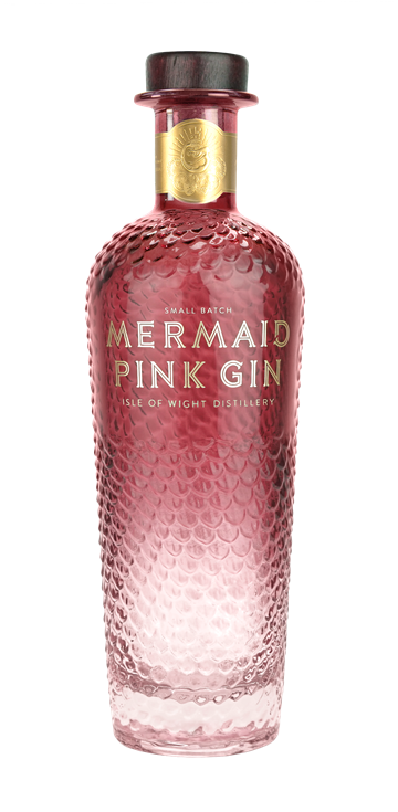 Mermaid Gin Jordbær - Isle Of Wright
